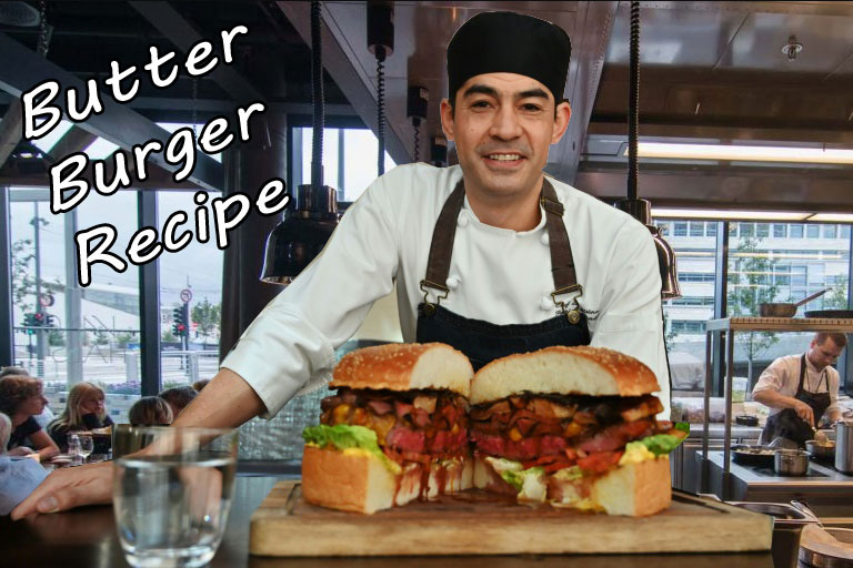 Butter Burger Recipe